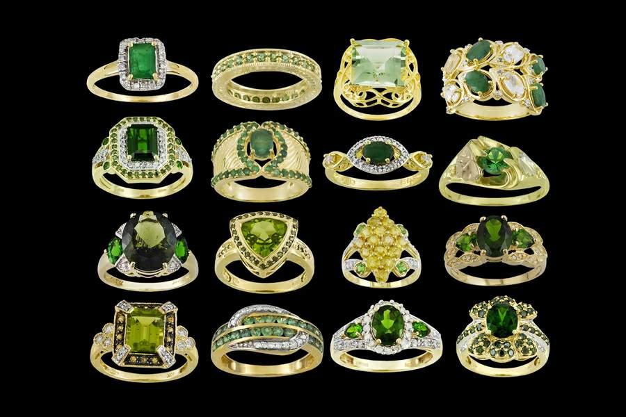Золотые кольца ручной работы фото 1