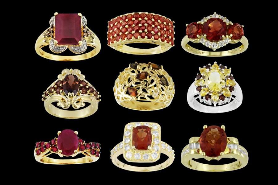 Эксклюзивные кольца с камнями