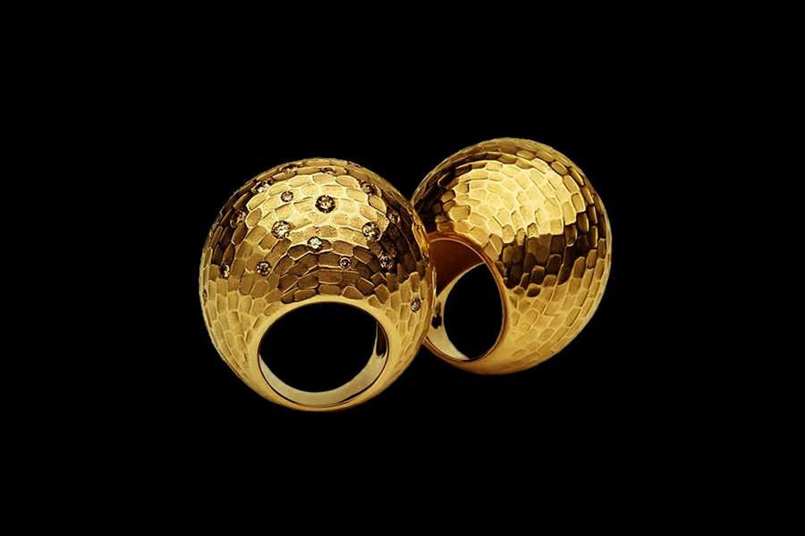 больших колец из золота
